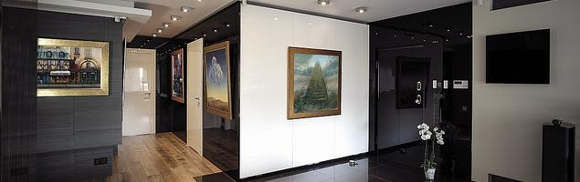 Obrazy jako dekoracje salonu. Malarstwo współczesne od firmy Dagma Art