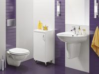 Elegancka łazienka od Grupy Armatura. Ceramika i meble łazienkowe