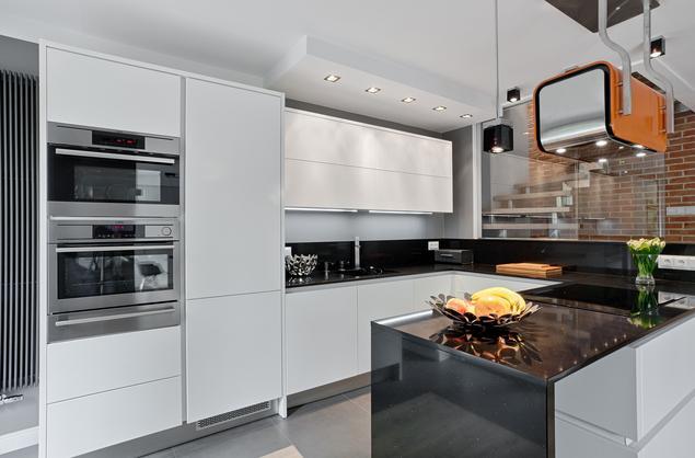 Zobacz galerię zdjęć Nowoczesne meble kuchenne Ekskluzywna kuchnia z kamieni