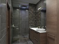 Pomysł na wnętrze - nowoczesna łazienka