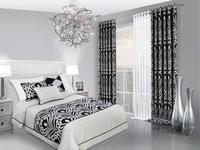 Pomysł na czarno-białą sypialnię – kontrastowa aranżacja sypialni
