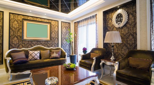 Salon w stylu glamour, czyli barokowy przepych we wnętrzu