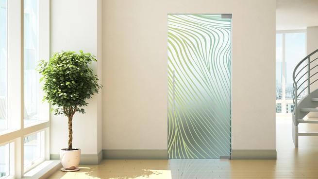 Drzwi z nadrukiem
