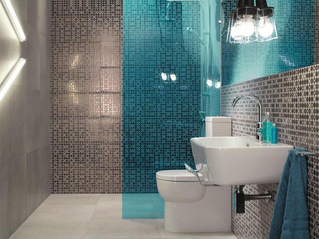 Betonowe Płytki Ceramiczne I Dodatki Do Aranżacji łazienki W